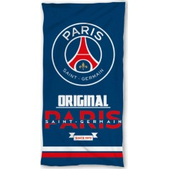 Beach towel Paris Saint-German Coton