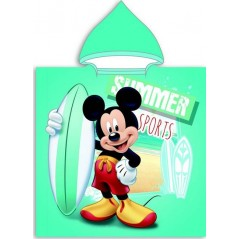 Poncho z kapturem Mickey Disney