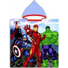 Poncho z kapturem Avengers