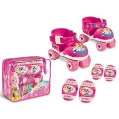 Princess Disney - Skates roller with protections for Princess