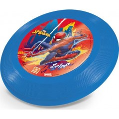 Frisbee Spider-man Mondo-disk flying in plastic in the colors of Spider-man