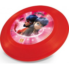 Frisbee LadyBug Mondo-disk flying in plastic in the colors of LadyBug
