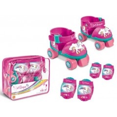 Licorne - Patins roller avec protections Licorne
