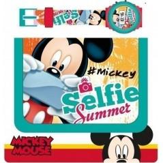 Set portefeuille + montre digitale Mickey Disney