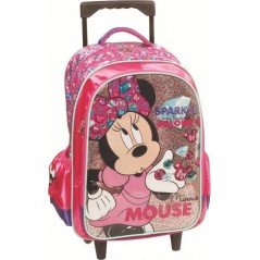 Disney Minnie Trolley Backpack 46 cm - Superior Quality