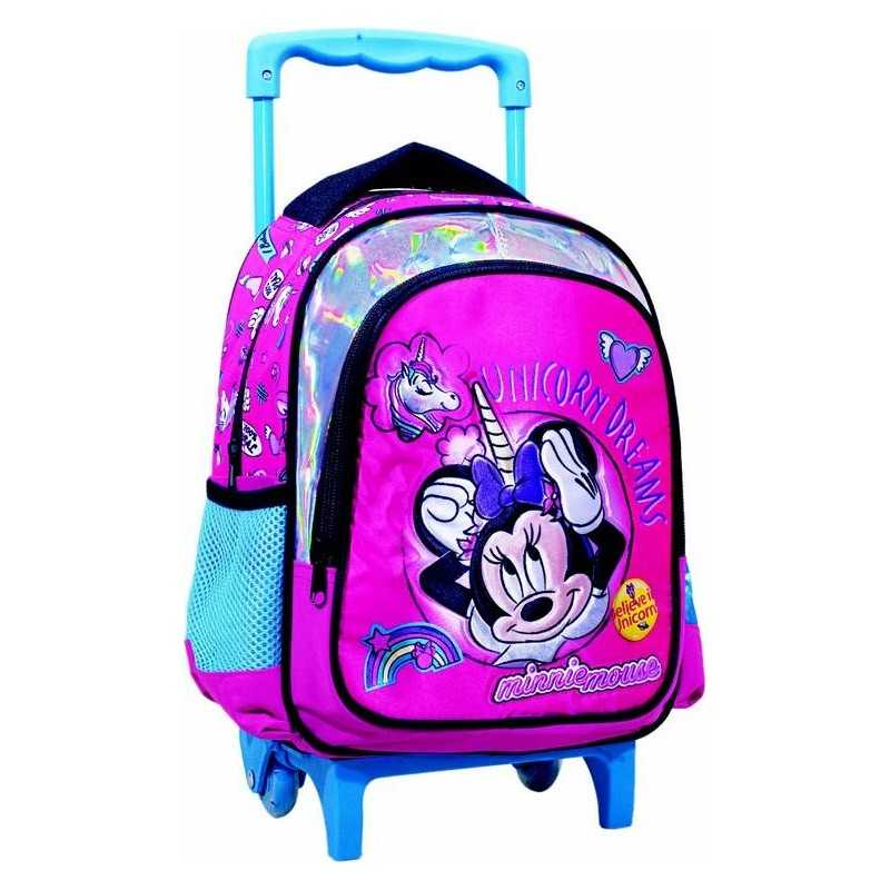 Minnie Trolley Backpack with Unicorn - Superior Quality