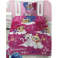 Set copripiumino Shimmer And Shine - Polycotton