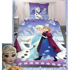 Frozen Disney Duvet cover + Pillowcase - Polycotton