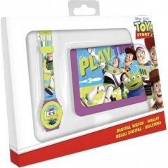 Set portefeuille + montre digitale Toy Story 4