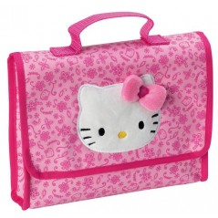 HELLO KITTY FLOWERS PATTERN POUCH