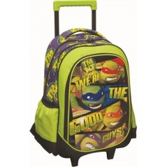 Trolley Backpack Turtles Ninja- Top quality