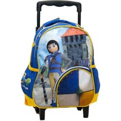 Alex Super 4 Playmobil trolley backpack 31 cm - Superior quality