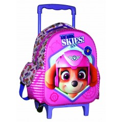 Paw Patrol trolley backpack in pink 31 cm