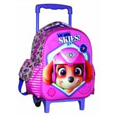 sac à dos trolley Paw Patrol en rose 31 cm