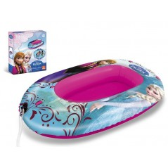 Frozen - inflatable Boat inflatable sea pool and The Snow queen