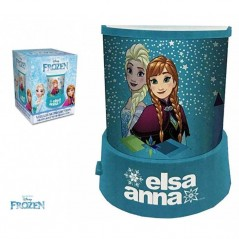 Nightlight Projector Snow Queen with stars