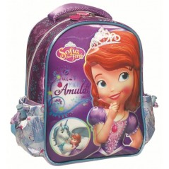 Disney Princess Sofia 3D Backpack with Unicorn in Pink - Superior Quality