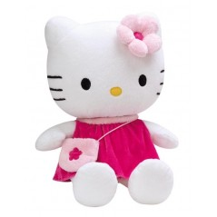 PELUCHE +/-40cm HELLO KITTY