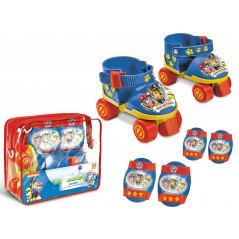 Paw Patrol - Patins roller avec protections Pat Patrouille