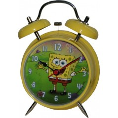 Alarm clock metal spongebob 13 cm