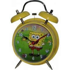 Sveglia metallica Sponge Bob 13 cm