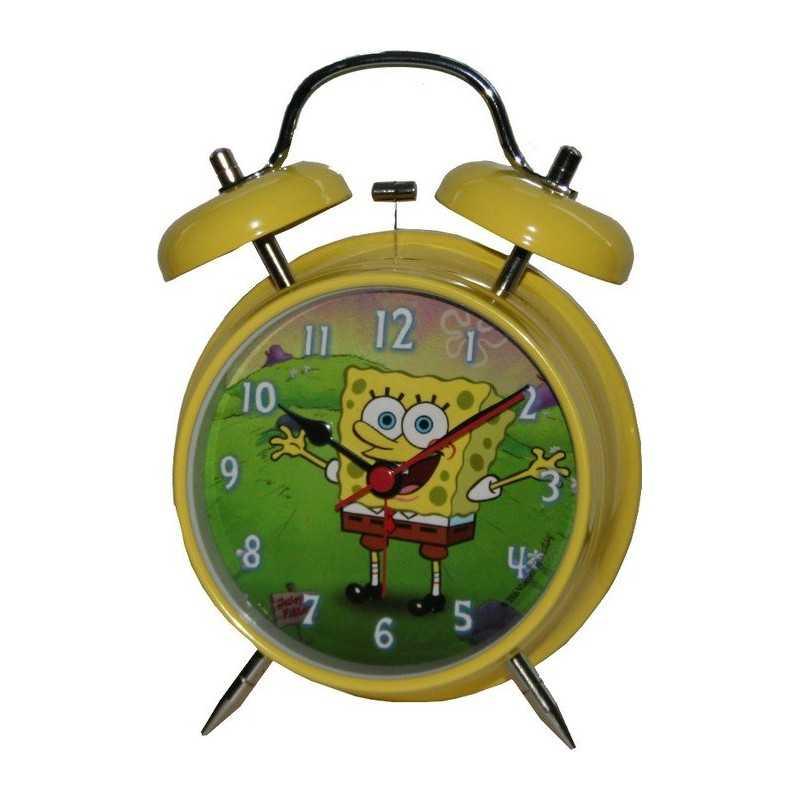 Metal alarm clock Sponge Bob 13 cm
