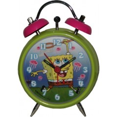 Metal alarm clock Spongebob