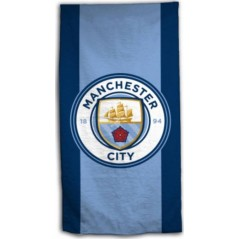 Manchester City beach towel Cotton
