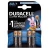 Battery Duracell Ultra Power AAA/LR03 x 4