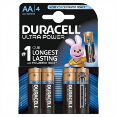 Batteries Duracell Ultra Power AA x 4