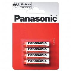 Piles PANASONIC Zinc AAA/LR03 x 4