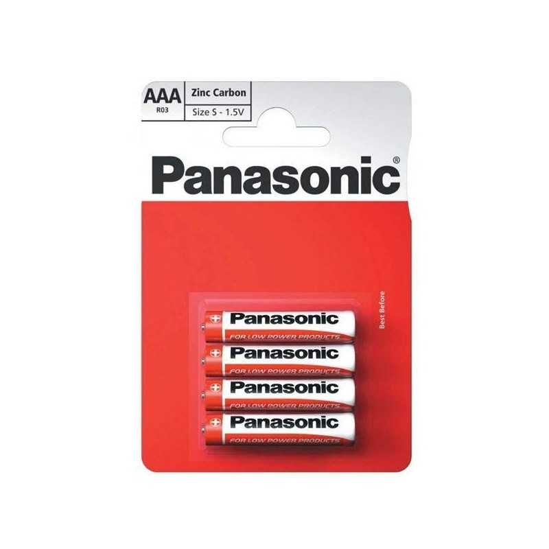 Battery PANASONIC Zinc AAA/LR03