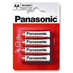 Piles PANASONIC Zinc AA/LR06 x 4
