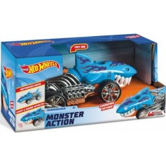 Hot Wheels cars Monster Action Sharkruiser