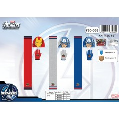 Set 3-piece Avengers cap + gloves + scarf Avengers - 780-568