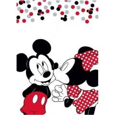 Plaid Polaire Minnie et Mickey Love Disney