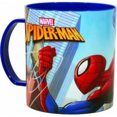 Spiderman Mug in Plastic Micro 350 ML