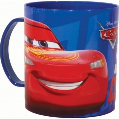 Mug Cars Disney en Plastique Micro 350 ML
