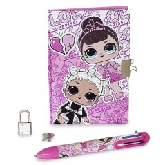 Set Lol Surprise Diary and pen 6 colors