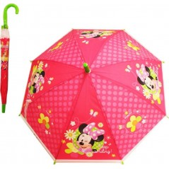 Disney Umbrella In Automatic Red