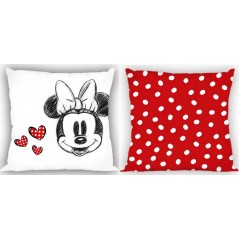 Coussin Minnie Disney en rouge