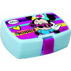 Boîte à goûter Minnie Disney en Pvc