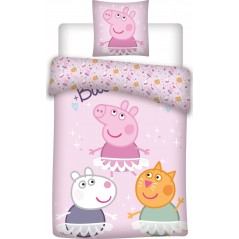 Peppa Pig Bettbezugset