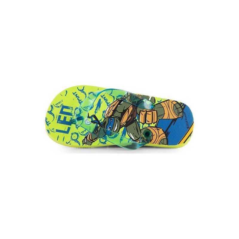 Turtles Ninja Flip Flops