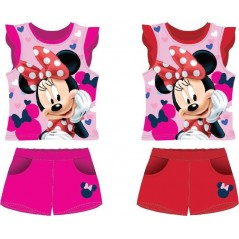Minnie Disney T-Shirt + Kurzes Set