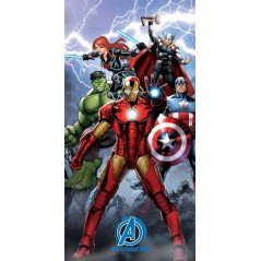 Avengers Marvel beach towel or bath towel