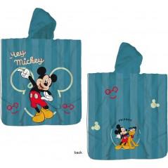 Badeponcho mit Kapuze aus Baumwolle von Mickey Disney