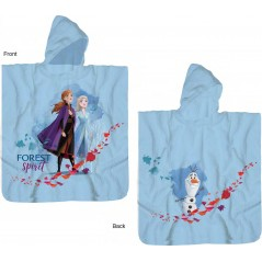 Frozen 2 Disney cotton hooded bath poncho