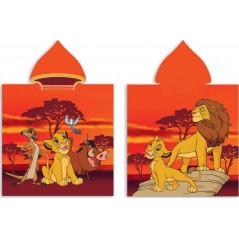 The Lion King cotton hooded bath poncho