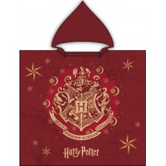 Harry Potter cotton hooded bath poncho